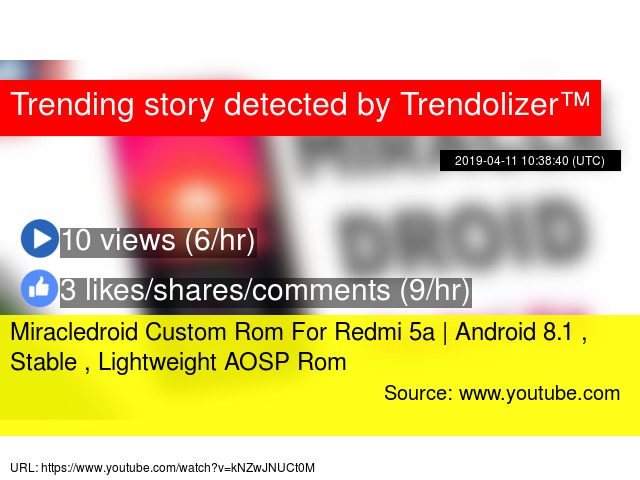 Miracledroid Custom Rom For Redmi 5a | Android 8 1 , Stable