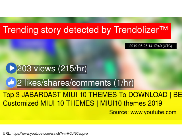 Top 3 JABARDAST MIUI 10 THEMES To DOWNLOAD | BEST Customized MIUI 10