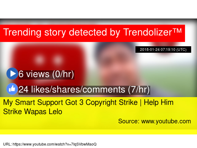 My Smart Support Got 3 Copyright Strike | Help Him Strike Wapas Lelo
