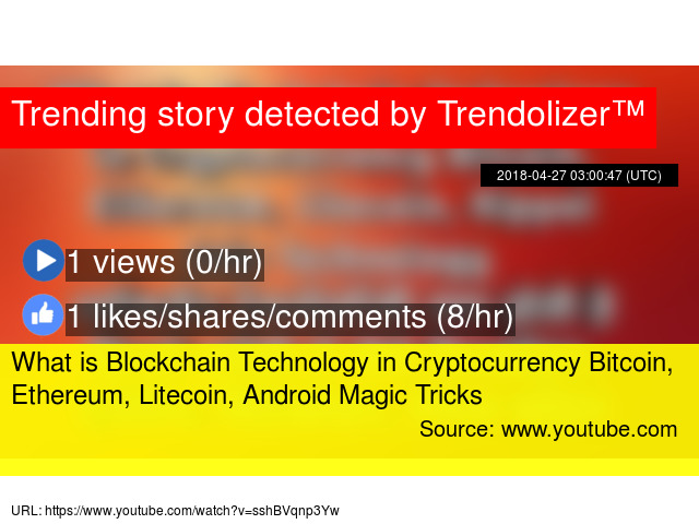 What is Blockchain Technology in Cryptocurrency Bitcoin