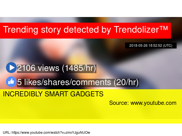 INCREDIBLY SMART GADGETS
