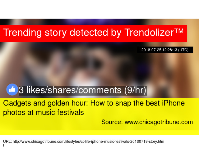 Gadgets and golden hour: How to snap the best iPhone photos